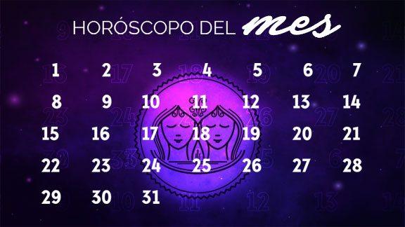 Horóscopo Géminis mensual- geminishoroscopo.com